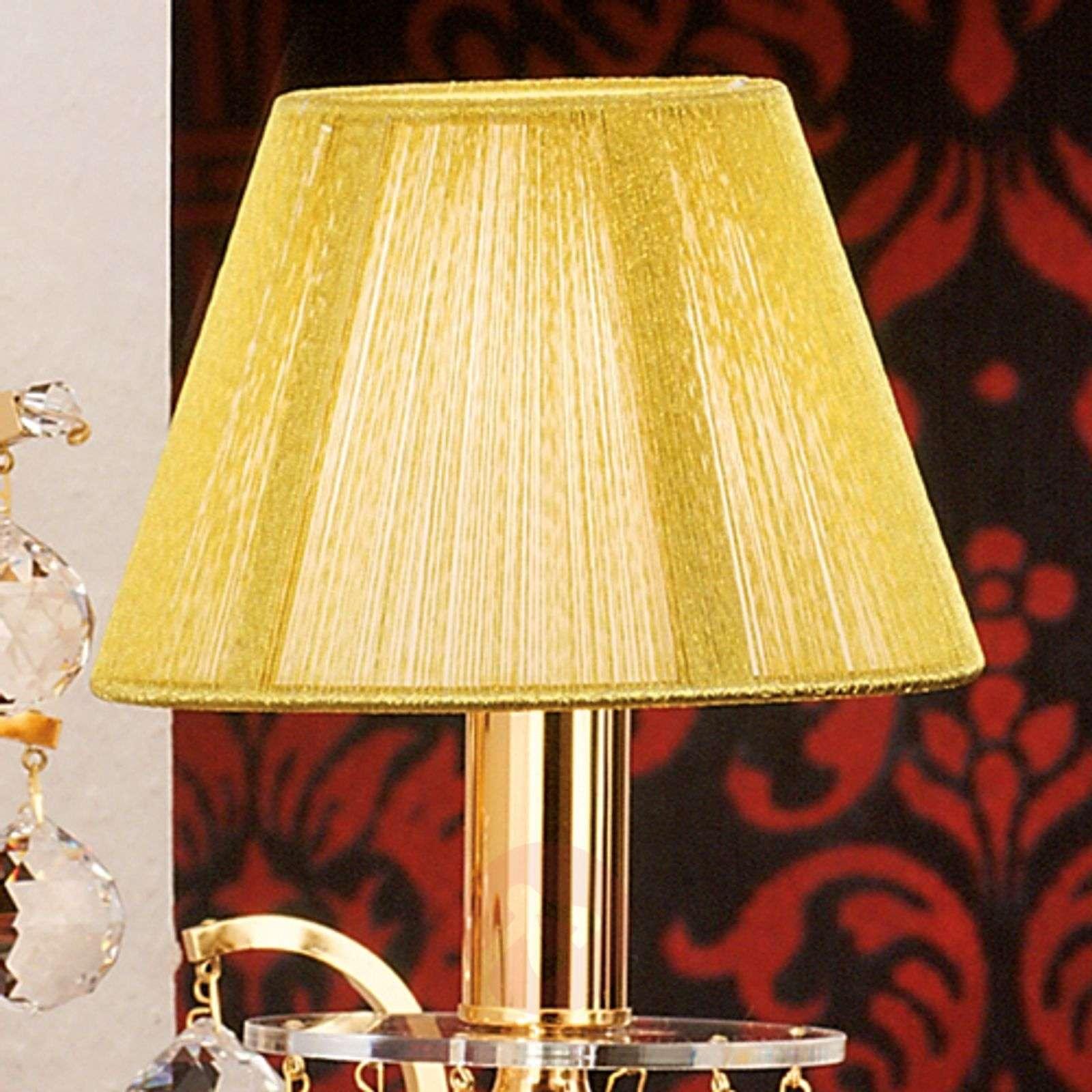Viehättävä tekstiiliseinävalaisin, kristallit-7254989-01