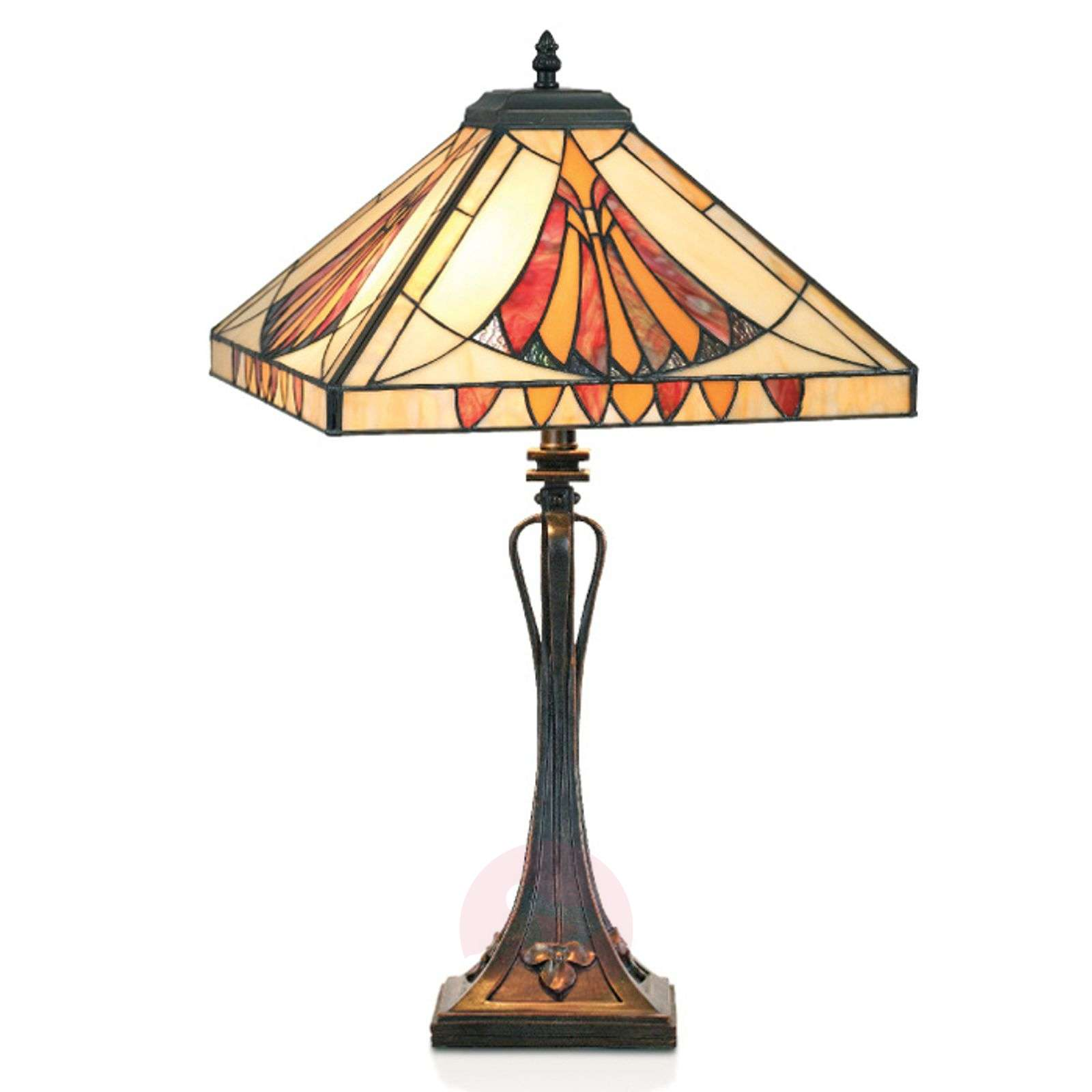 Viehättävä Tiffany-tyylinen AMALIA-pöytävalaisin-1032191-01