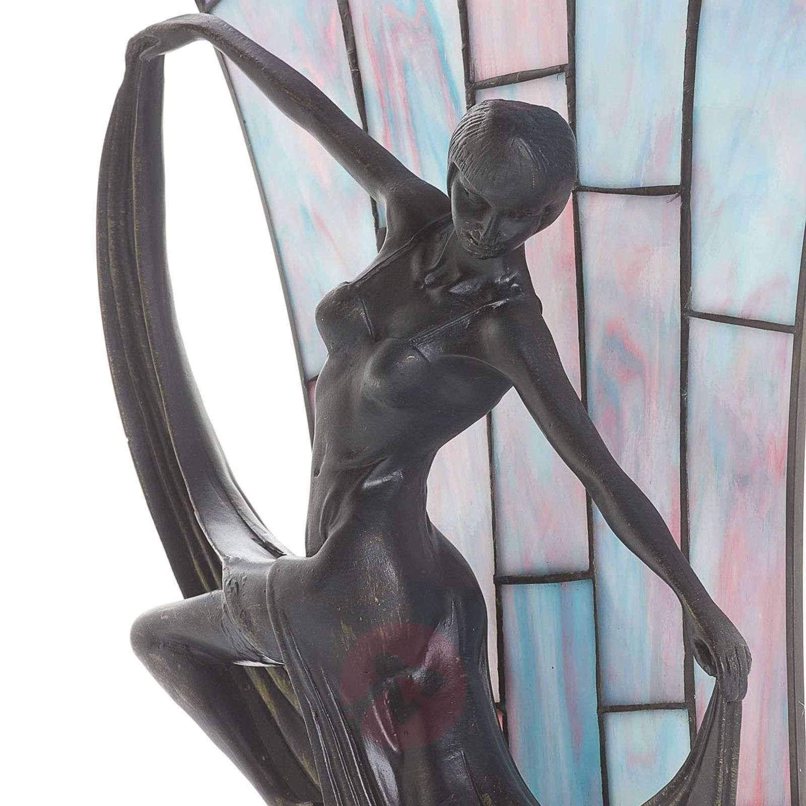 Viehättävä Tiffany-tyylinen Flamina-pöytävalaisin-1032282-01
