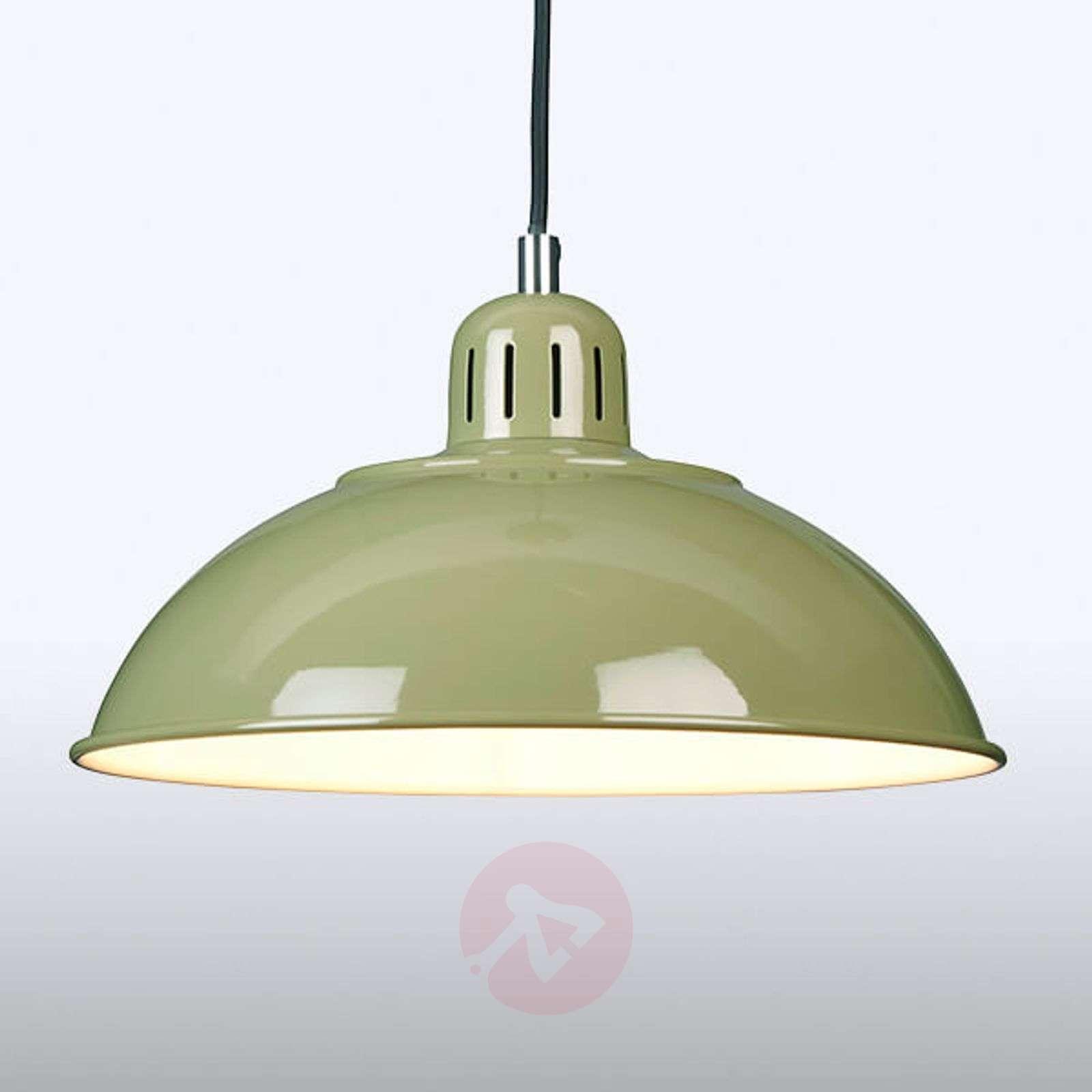 Vihreä Franklin-riippuvalaisin retrotyylillä-3048777-01