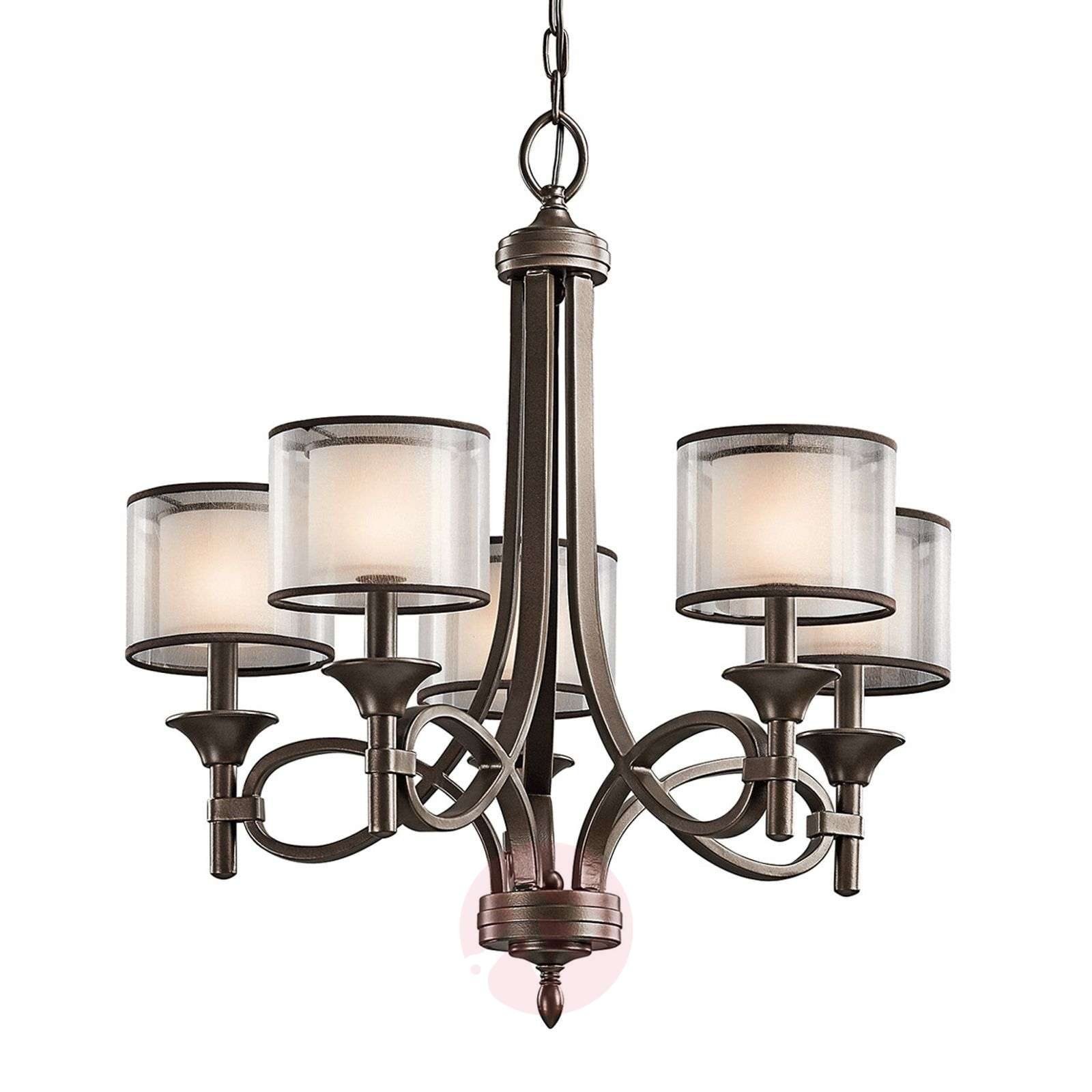 Viiden lampun Lacey-kattokruunu-3048289-01