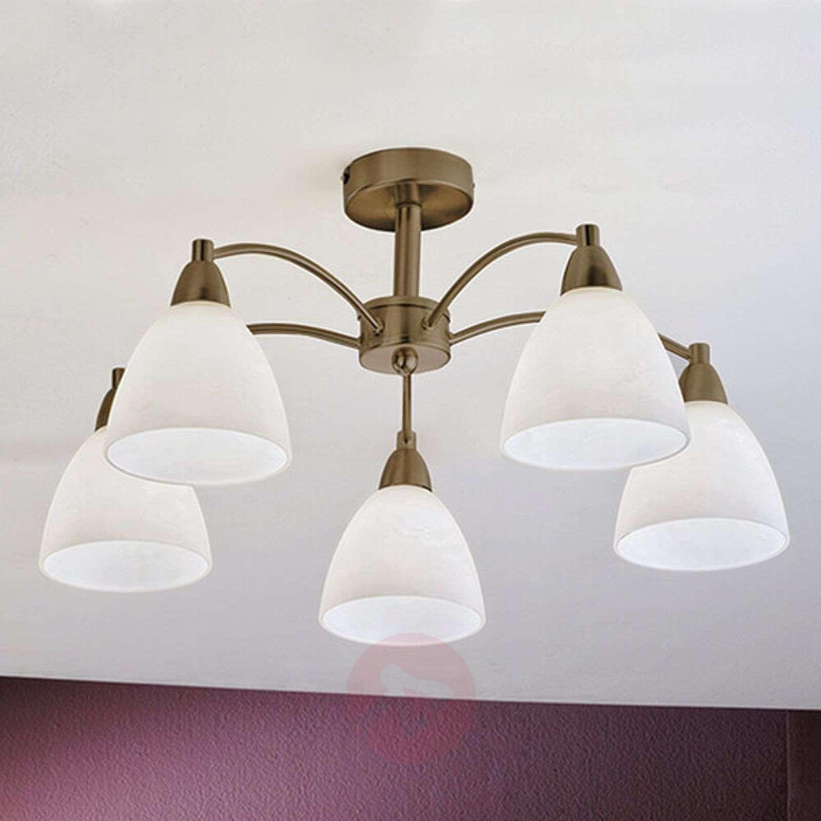 Viisilamppuinen Kinga-kattolamppu, vanhamessinki-7255342-01