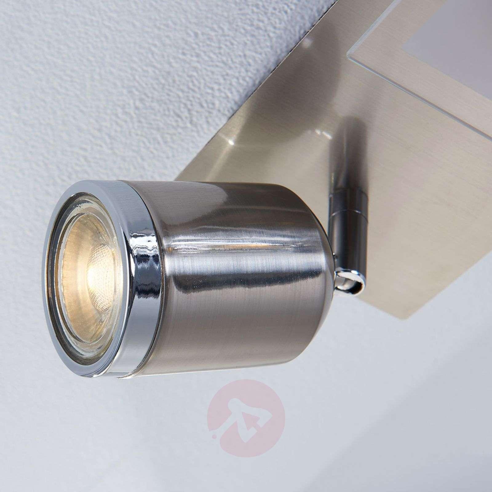 Viisilamppuinen LED-kattovalaisin Fjolla, himmenn.-9621085-02