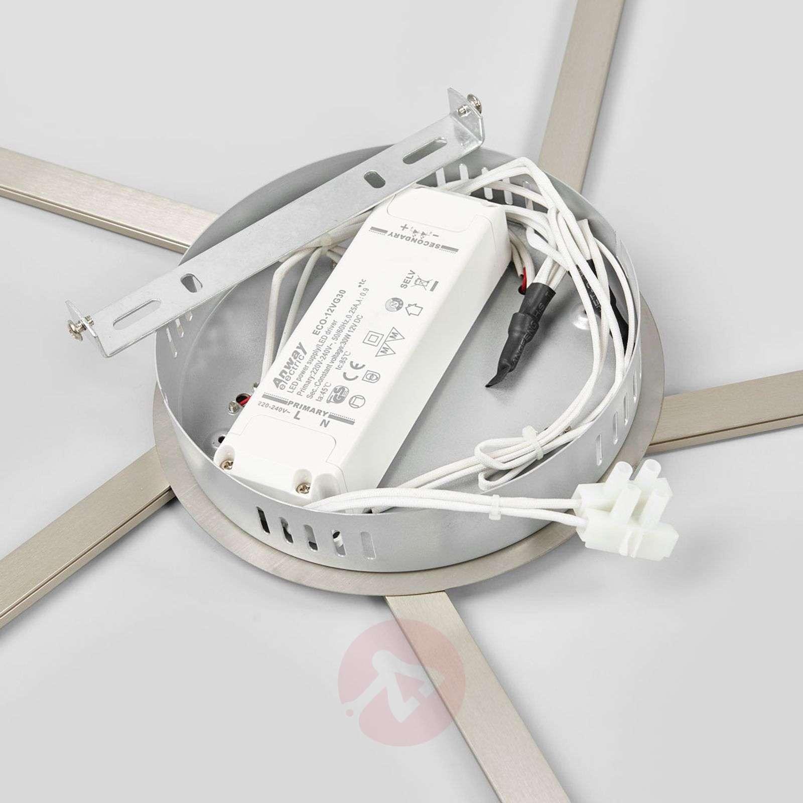 Viisiosainen Skadi-LED-kattovalaisin-9985079-02