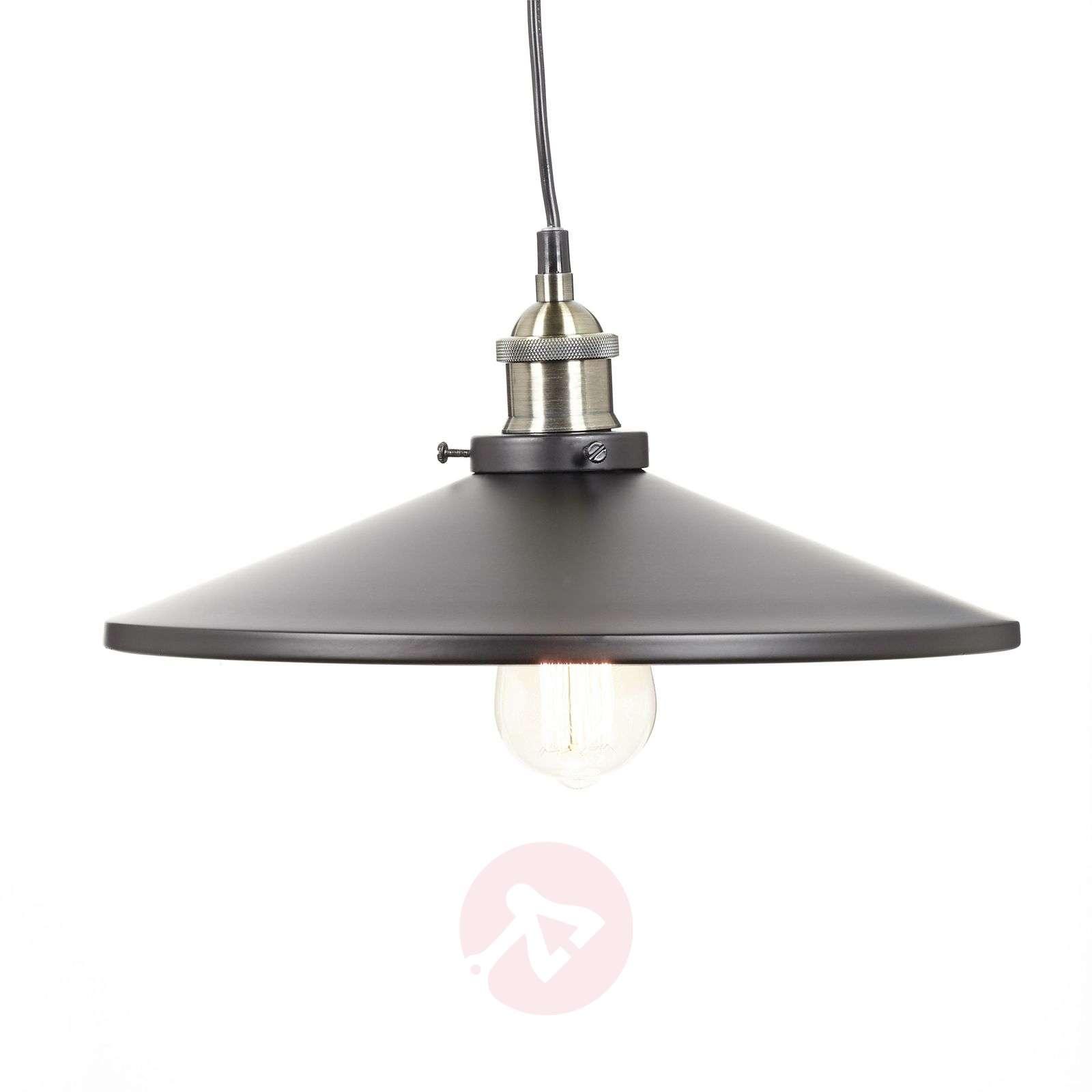 Viktor – alumiininen riippuvalaisin, musta-4014566-01