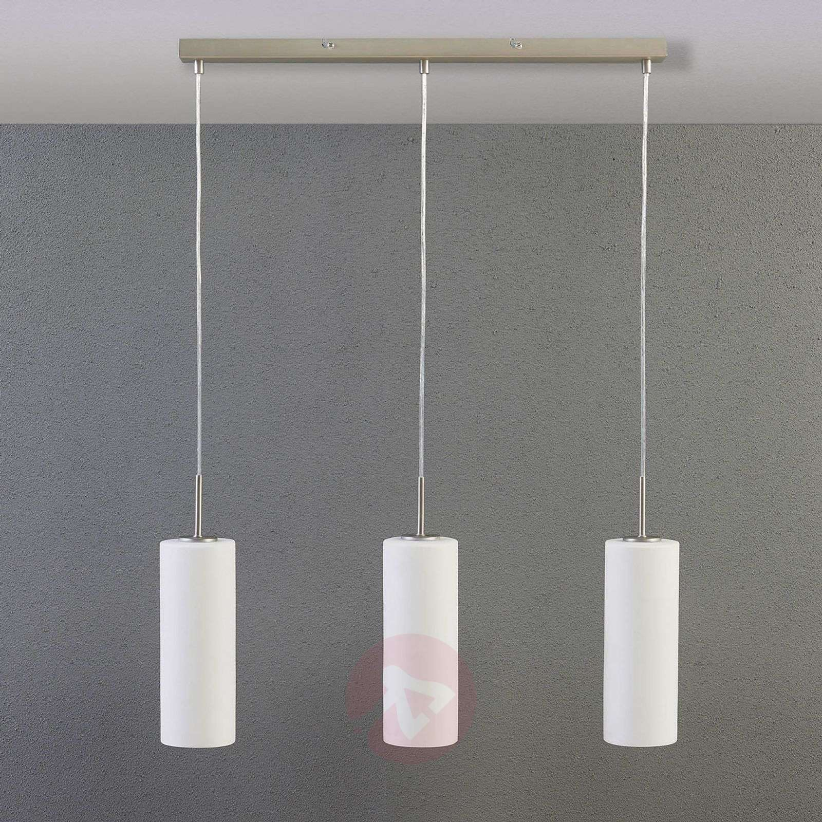 Vinsta – kolmilamppuinen riippuvalaisin, valk.lasi-9621003-02