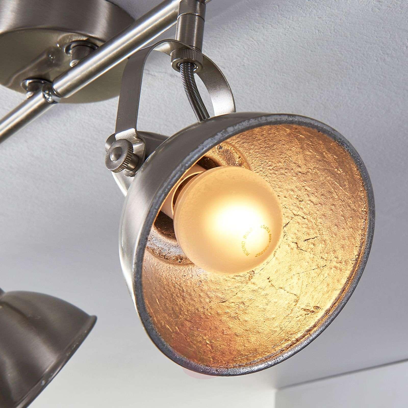 Vintage keittiövalaisin Julin, 4-lamppuinen-9620733-03