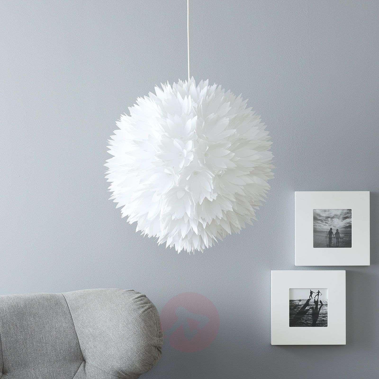 Virkistävä valkoinen Flower riippuvalaisin-7000383-01