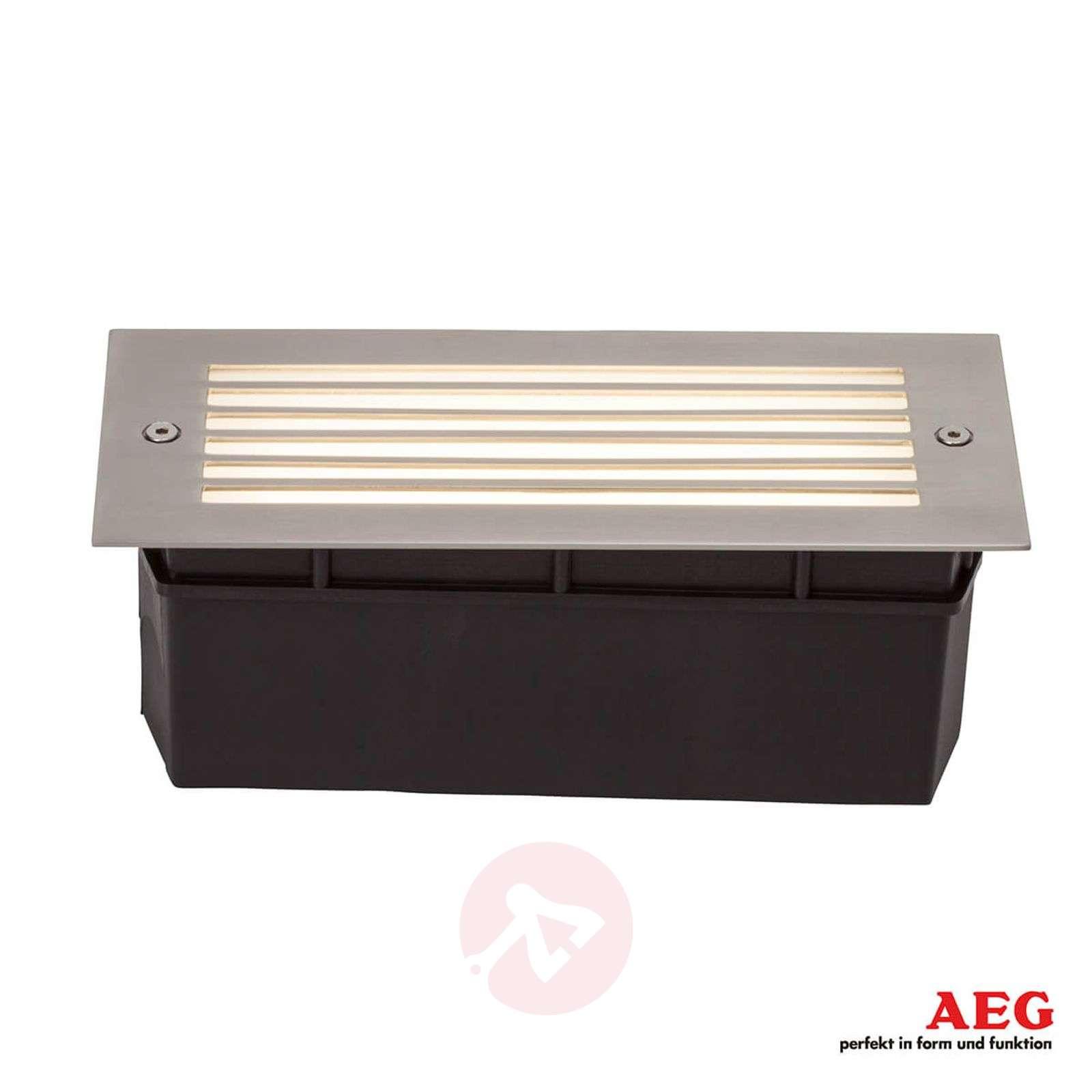 Wall LED-ulkoseinäuppovalaisin säleiköllä-3057133-01