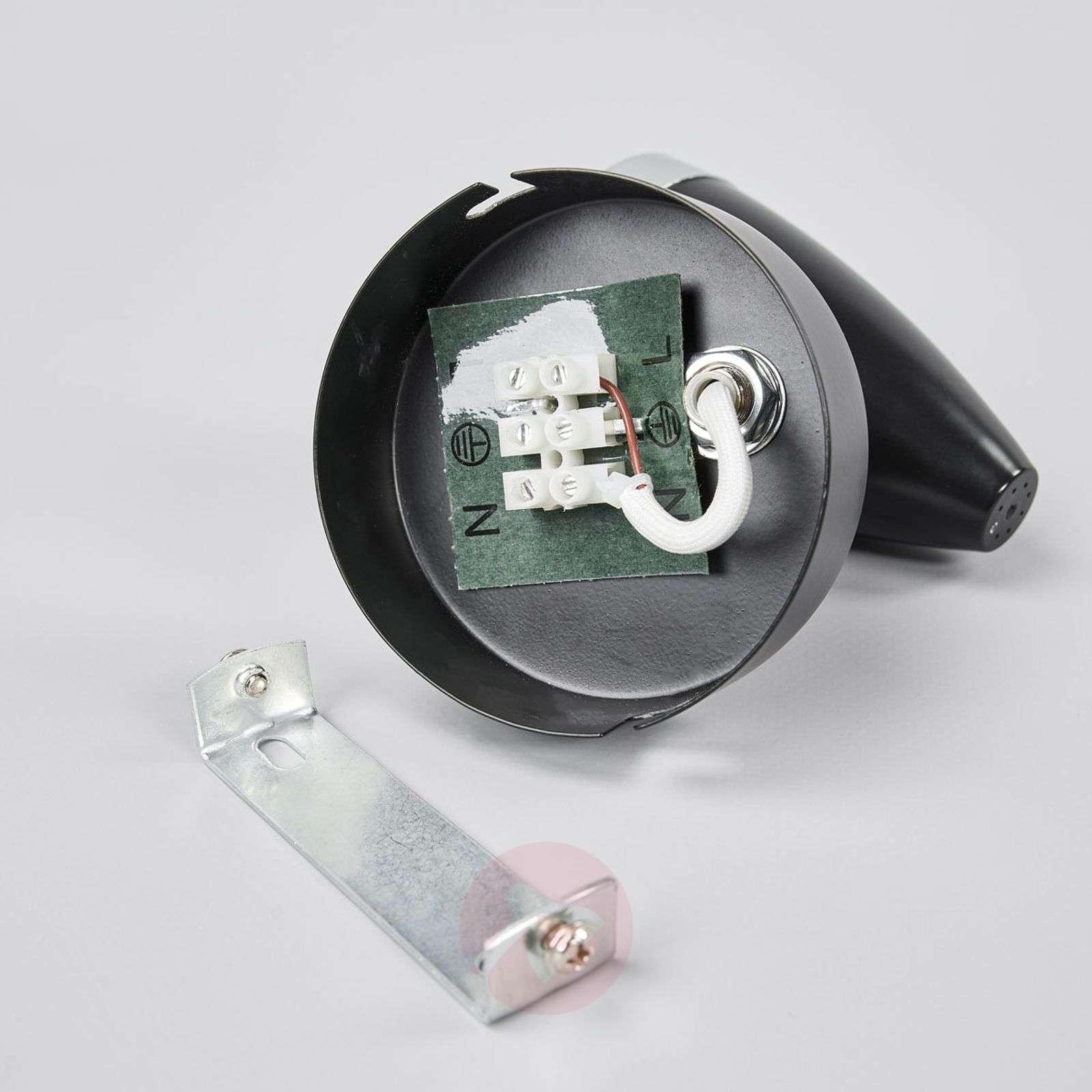 Yksilamppuinen LED-spotti Ron, musta-9954001-01