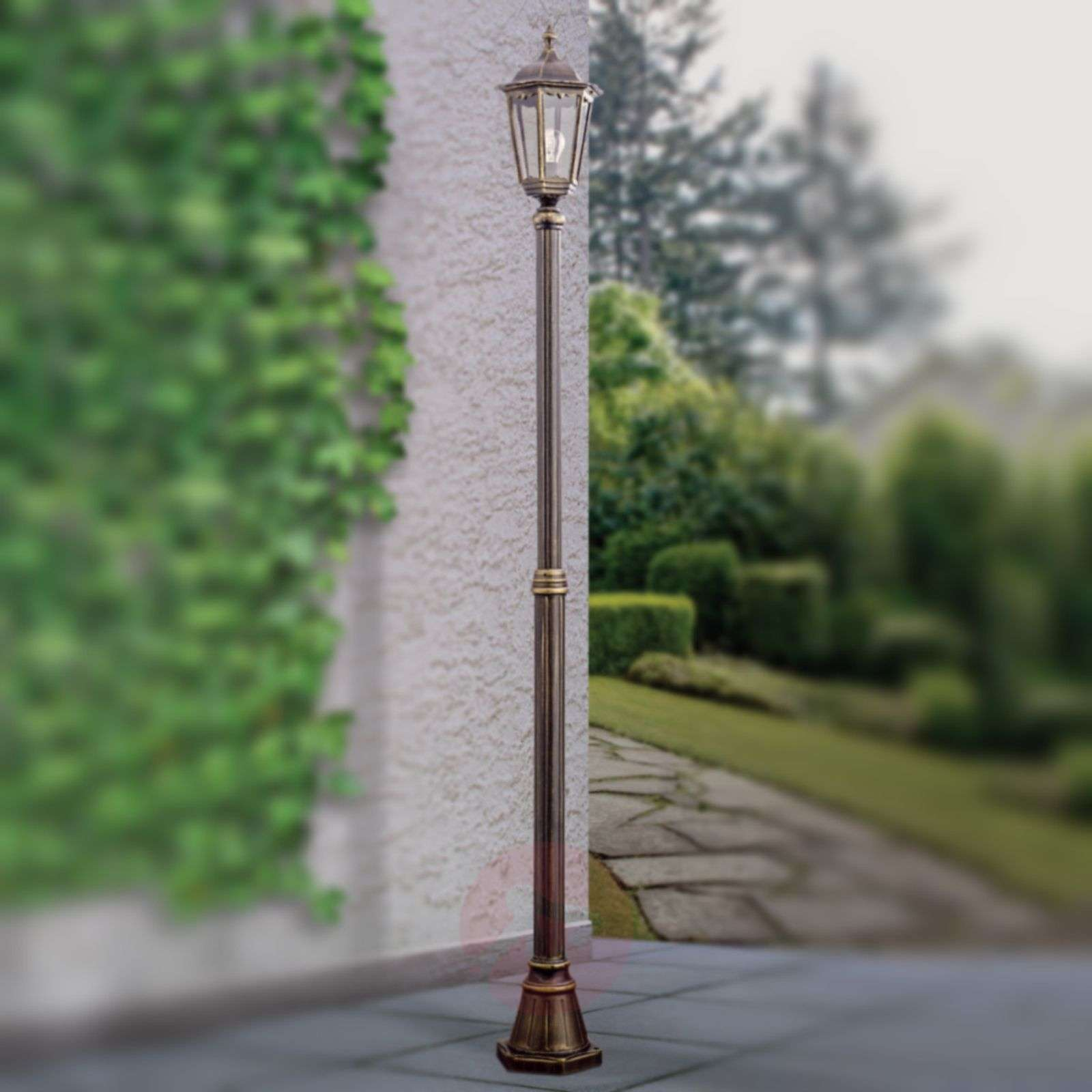 Yksilamppuinen lyhtypylväs Fabio, 249cm-7254782-01