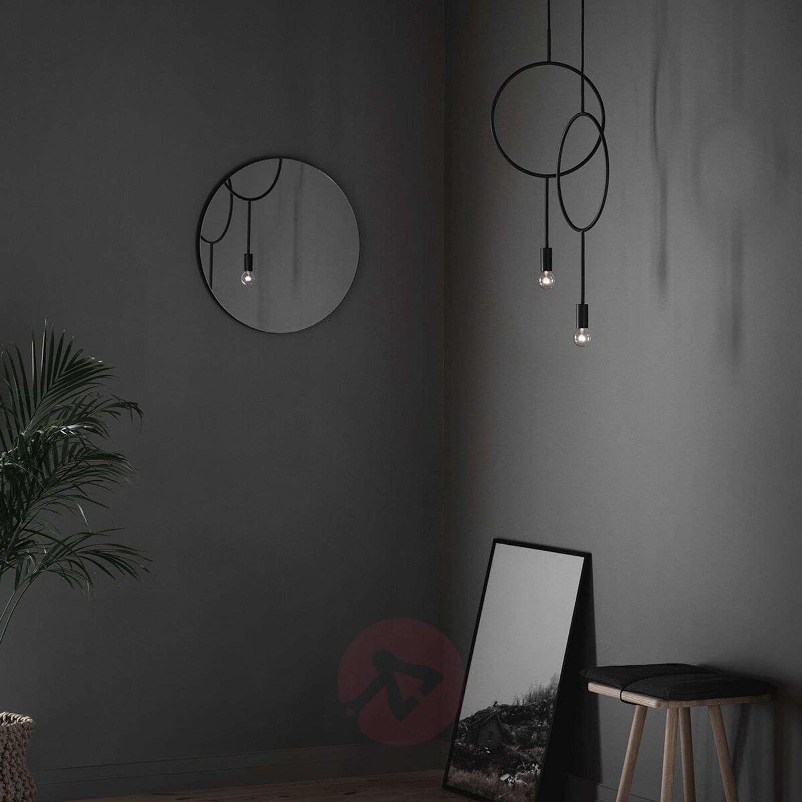 Ylellinen design-riippuvalaisin Circle-7013098-02