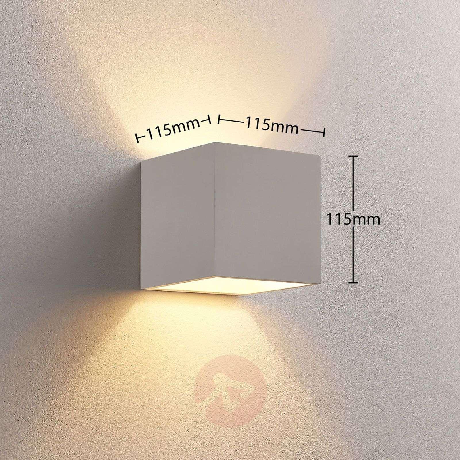 Ylös ja alaspäin valaiseva LED-kipsivalaisin Kay-9621327-01