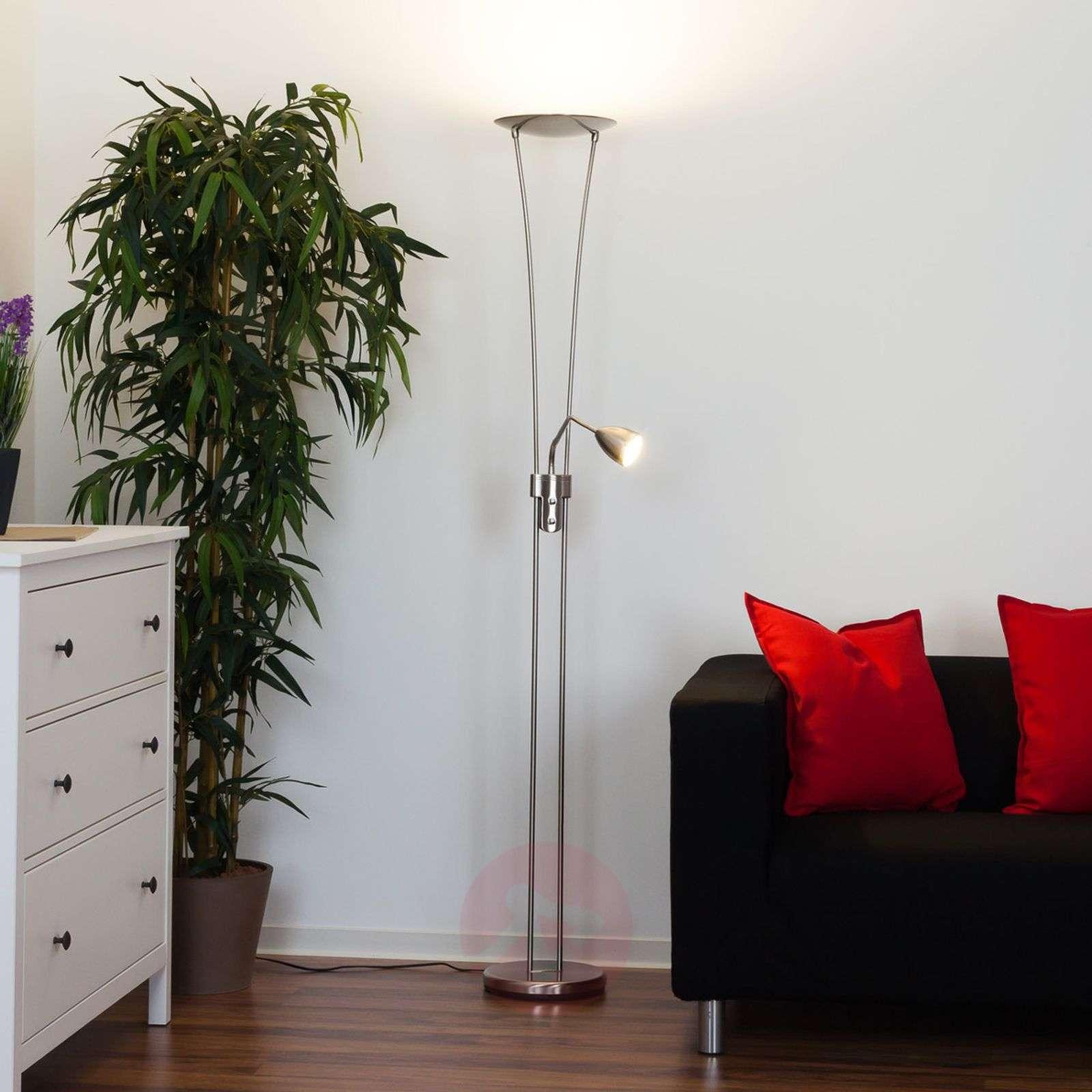 Yohann LED-lattiavalaisin, matta nikkeli-9620070-01