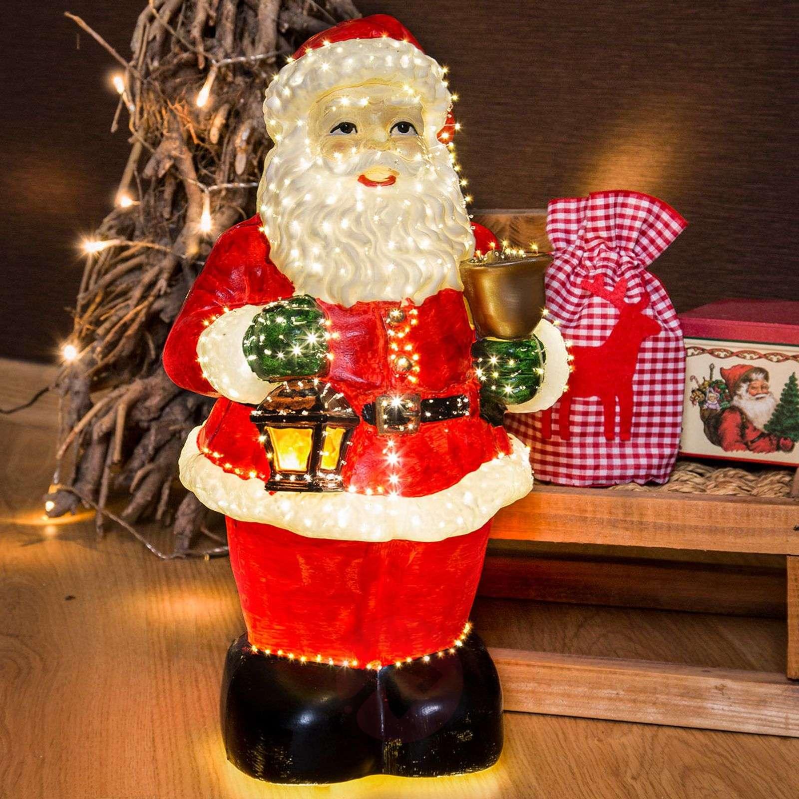 Ystävällinen joulupukki, kuituoptiikka, 41,5cm-5524228-01