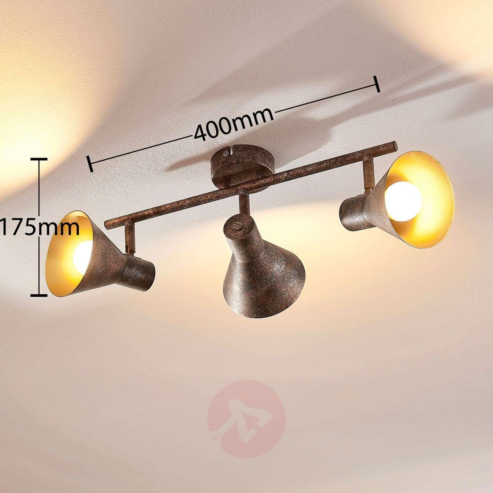 Zera pitkä LED-kattolamppu, easydim-9621541-02