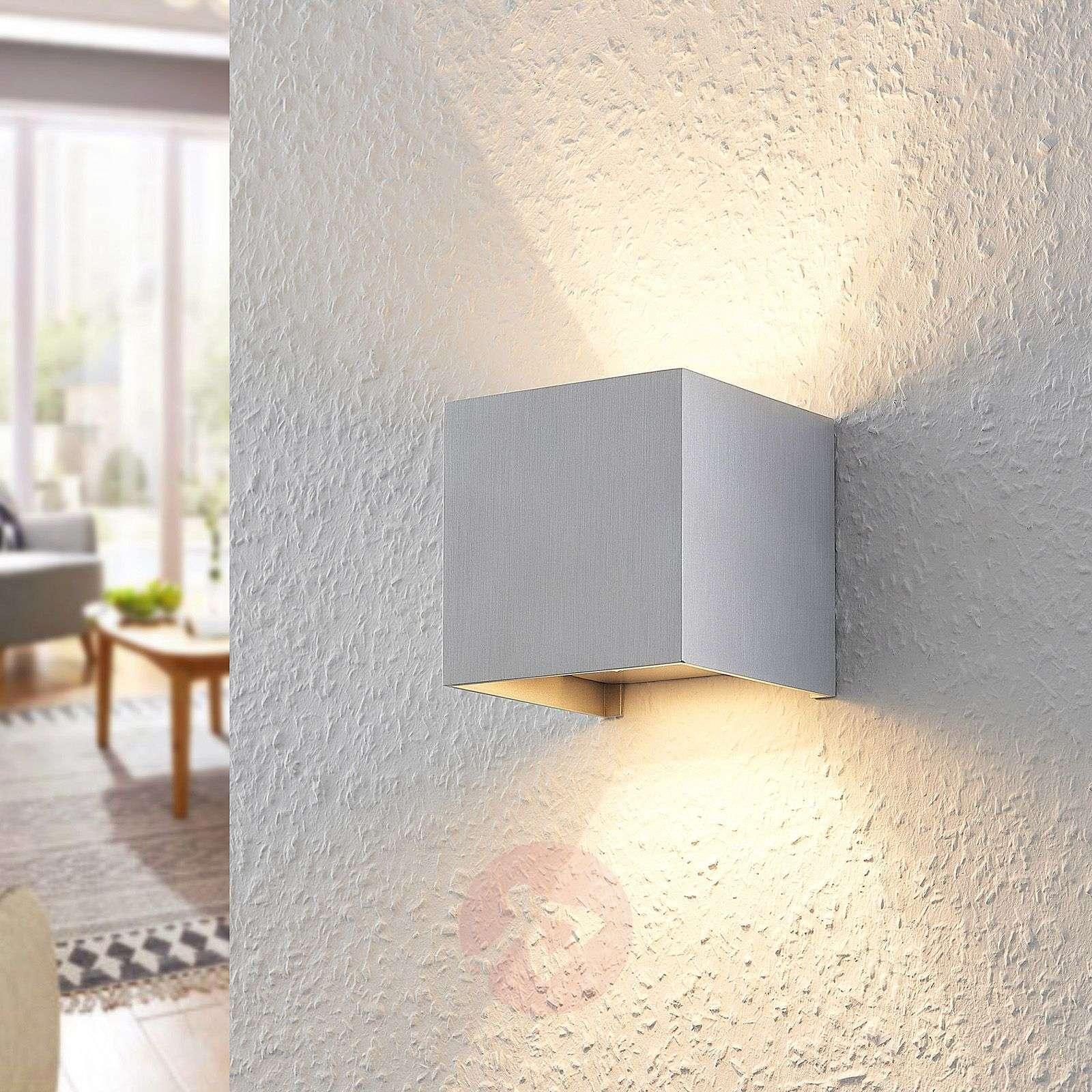 Zuzana – Alumiininen seinävalaisin, jossa G9-LED