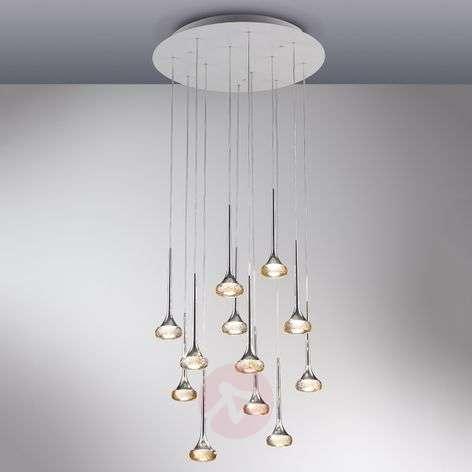 12-osainen Fairy-LED-riippuvalaisin, meripihka-1088058-31