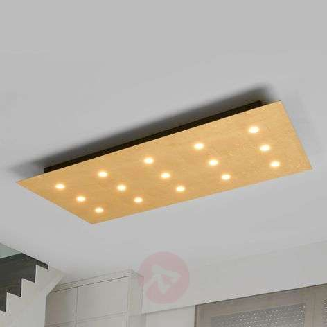 15 LED-valoa - himmeä kattovalo Yuri kulta