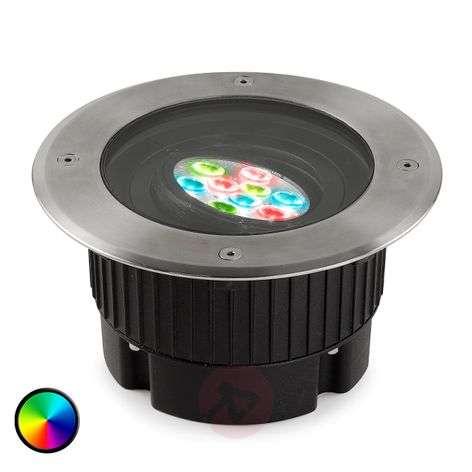18 cm Ø upotettava LED-maavalo GEA värinvaihdolla