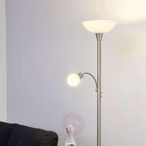 2-lamp. Elaina LED-lattiavalaisin, matta nikkeli