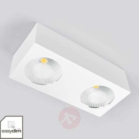 2-lamppuinen LED-kattospotti Sonja, kytkimestä him