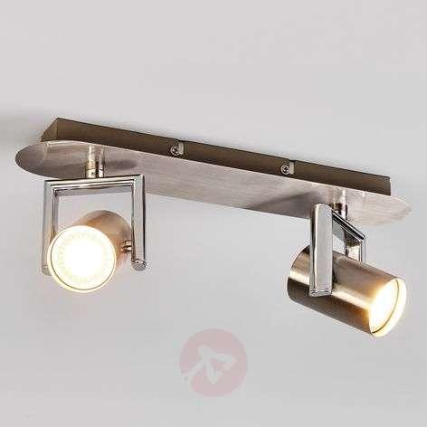 2-lamppuinen Luciana GU10-LED-sätelijä