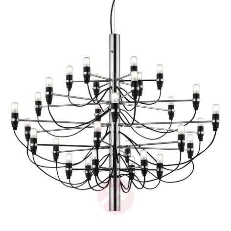 2097 - 50-lamppuinen kattokruunu, FLOSilta
