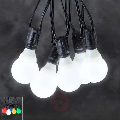 24V-järjestelmän terassivaloketju LED E10