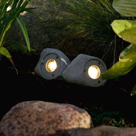 3kpl:n setti LED-spotit Amalfi, kivi
