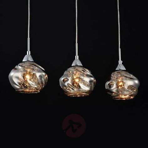 3-lamp. - lasiriippuvalo Haze, kristallivalaisin