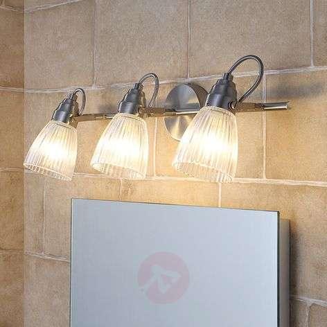 3-lamppuinen kh-kattovalaisin Kara, G9-LED