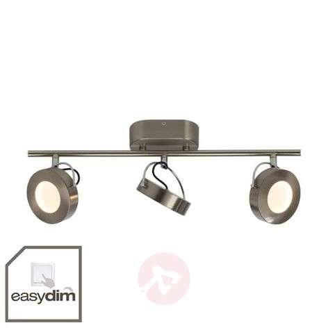3-lamppuinen LED-kattokohdevalo Allora - EasyDim
