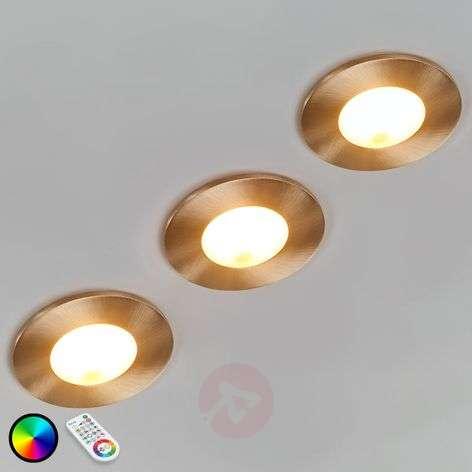 3-sarja Performa LED-uppospotti, kaukosäädin
