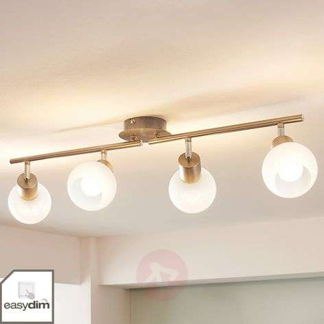 4-lamppu-LED-kattovalaisin Tanos, himmennettävä