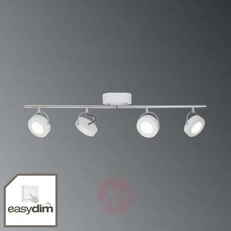 4-lamppuinen LED-kattokohdevalo Allora, EasyDim