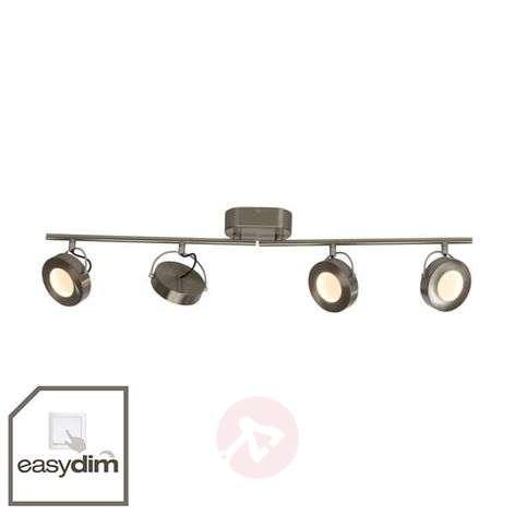 4-lamppuinen LED-kattospotti Allora, EasyDim