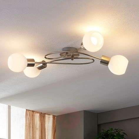 4-lamppuinen LED-kohdevalo Hailey, nikkeli-9621040-32