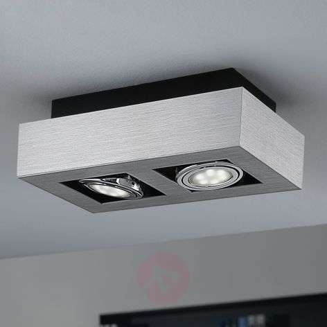 4-osainen Loke-LED-kattovalaisin