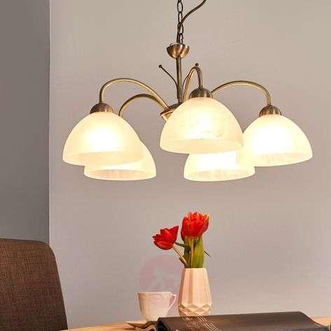 5-lamp. klassinen MILANESE-riippuvalaisin