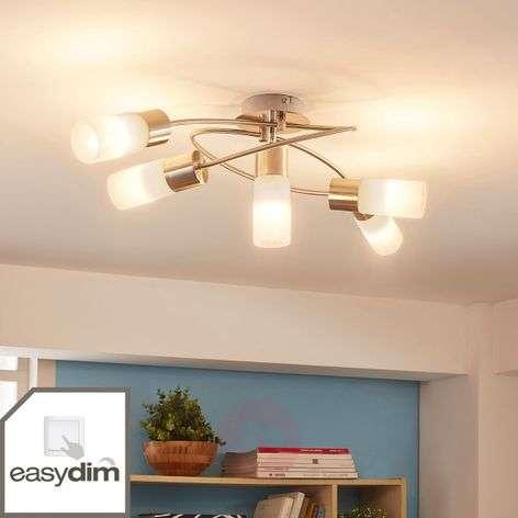 5-lamppuinen himmennettävä LED-kattovalaisin Erva