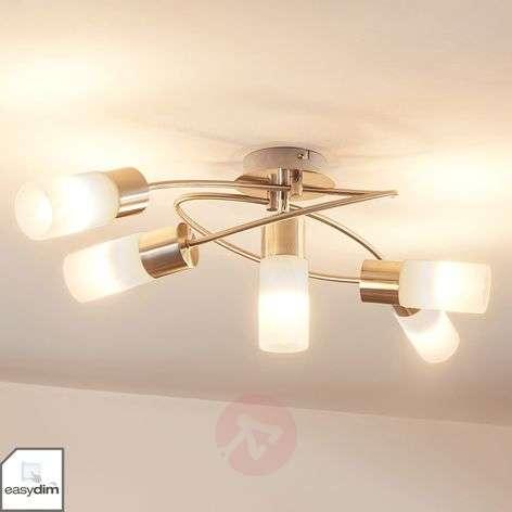 5-lamppuinen himmennettävä LED-kattovalaisin Erva-9621280-32