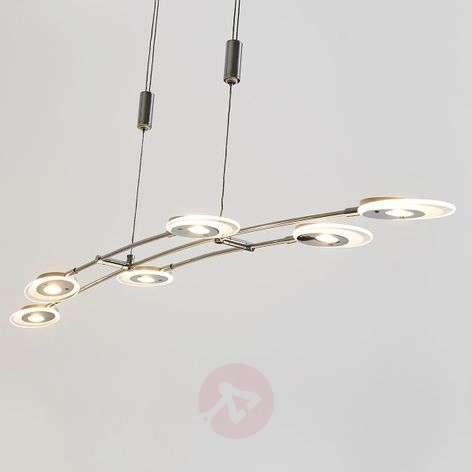 6-lamppuinen säädettävä LED-riippuvalaisin Alecia