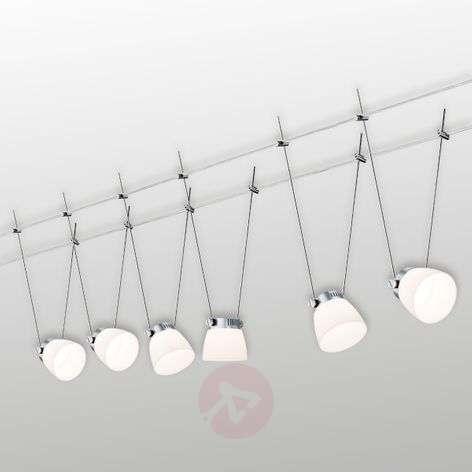 6lampun Iced LED III -vaijerijärjestelmä