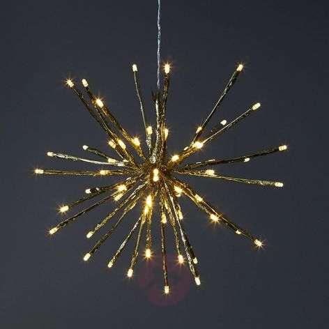 8 valovarianttia - LED-koristevalaisin Firework