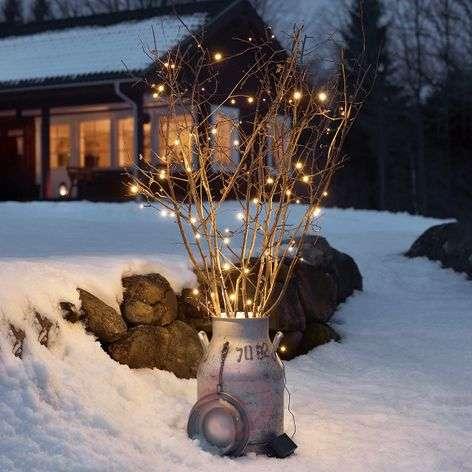 80-lamppuinen valoketju Ole LED hämärätunnistin