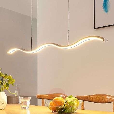 Aaltoileva LED-riippuvalaisin Brama