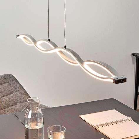Aaltopintainen riippuvalaisin Tura LED-valoilla
