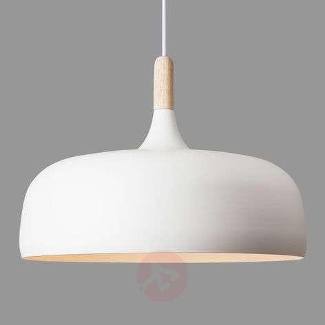 Acorn – alumiininen riippuvalaisin, valkoinen