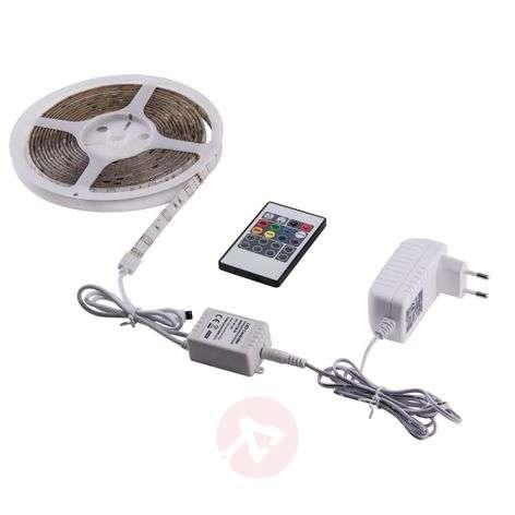 Ääniohjattava RGB-LED-nauha - käyttövalmis
